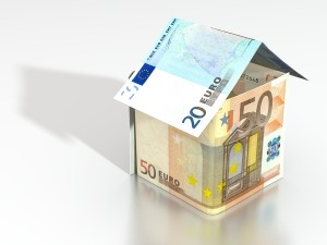 A House Of Euro Bank-Notes